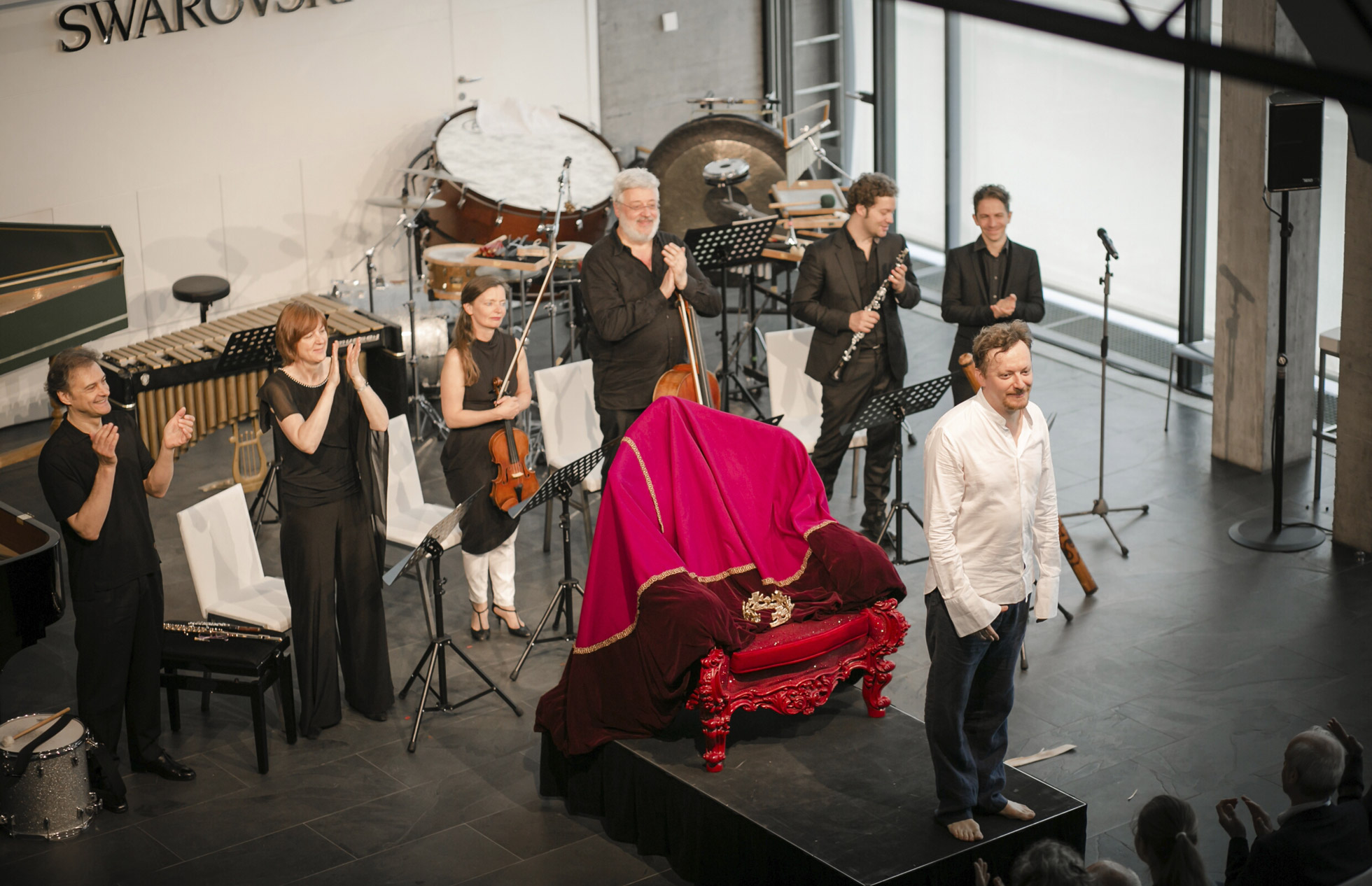 Ensemble intercontemporain, Georg Nigl und Gregor A. Mayrhofer