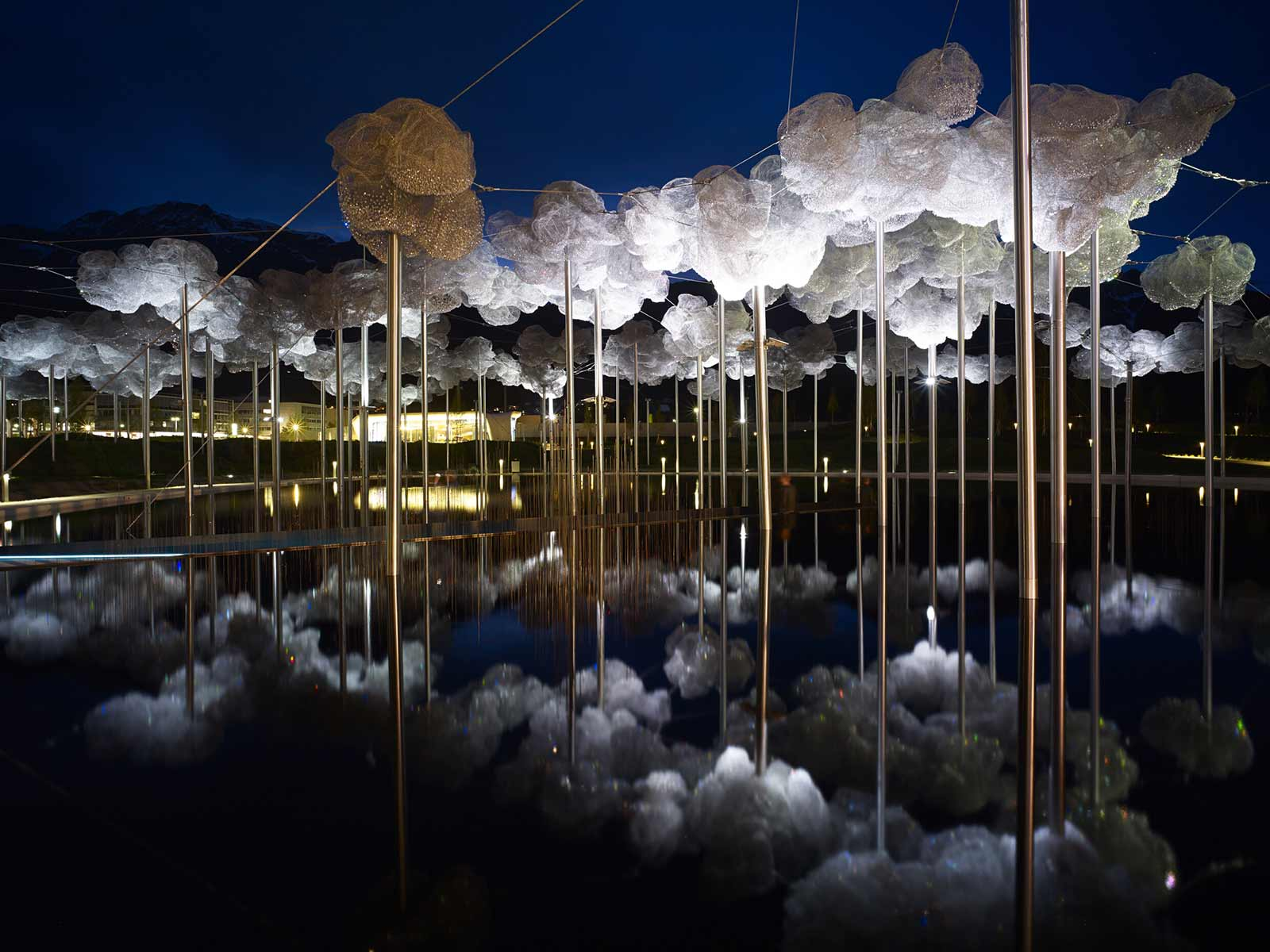 Crystal Cloud at Swarovski Crystal Worlds